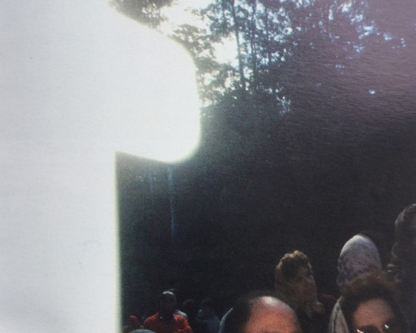 13 August 1989: This miraculous photo was taken of pilgrims on the Holy Grounds near Nowra, NSW Australia
